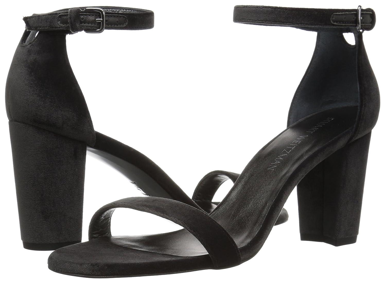Stuart Weitzman Women's Nearlynude Heeled Sandal B06XQ1KJMY 10 B(M) US Smoke