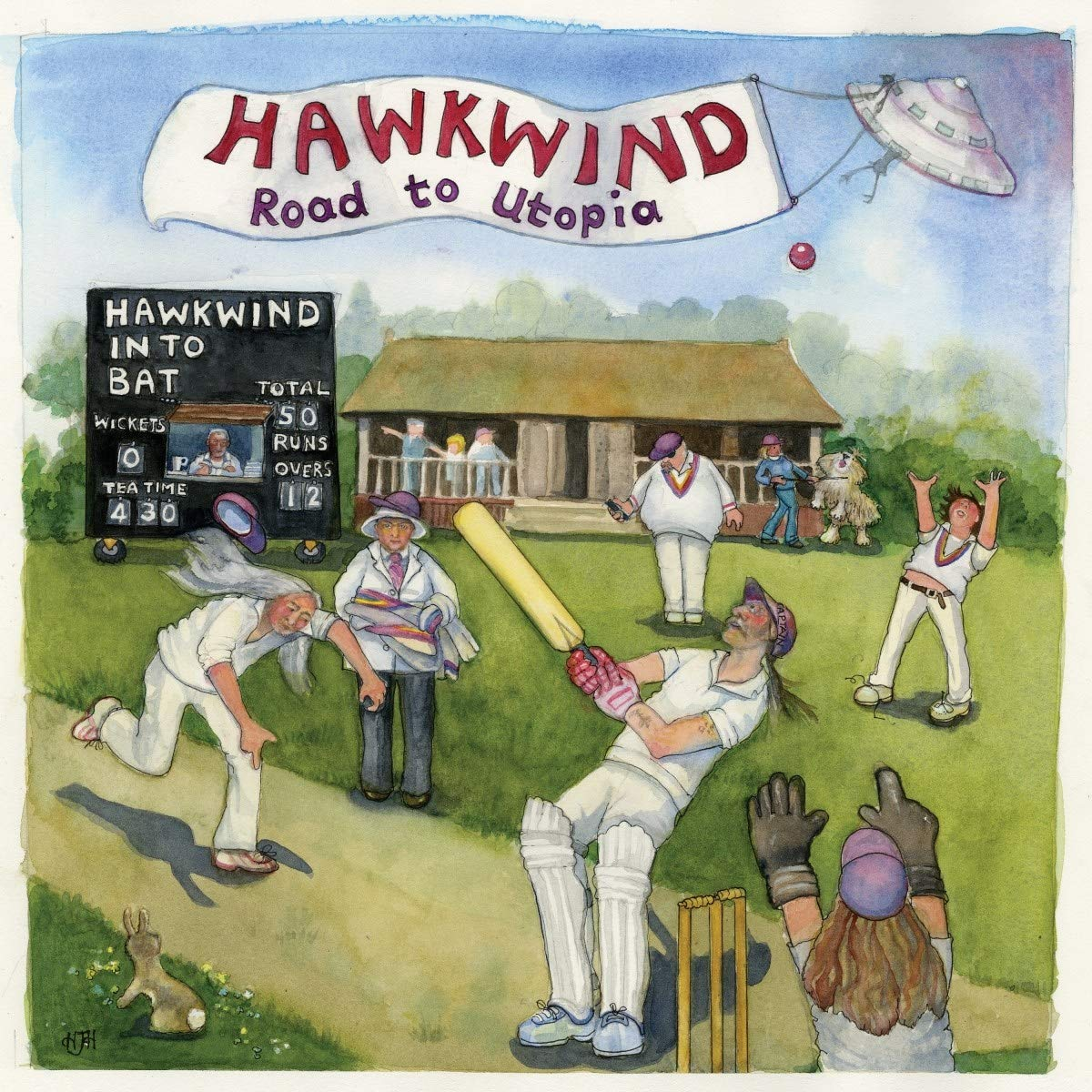 Vinilo : Hawkwind - Road To Utopia (Gatefold LP Jacket, Limited Edition)