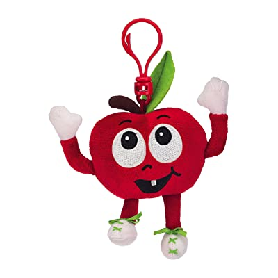 Whiffer Sniffers Adam Apple Scented Backpack Clip: Toys & Games