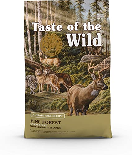 Taste Of The Wild Grain Free High Protein Dry Dog Food Pine Forest