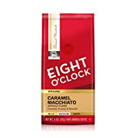 Deals on Eight O'Clock Ground Coffee, Caramel Macchiato 11 Ounce