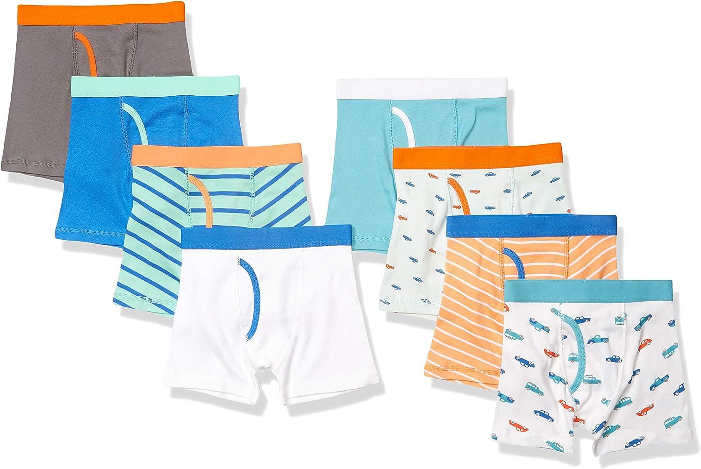 Essentials Boys Cotton Boxer Briefs Underwear