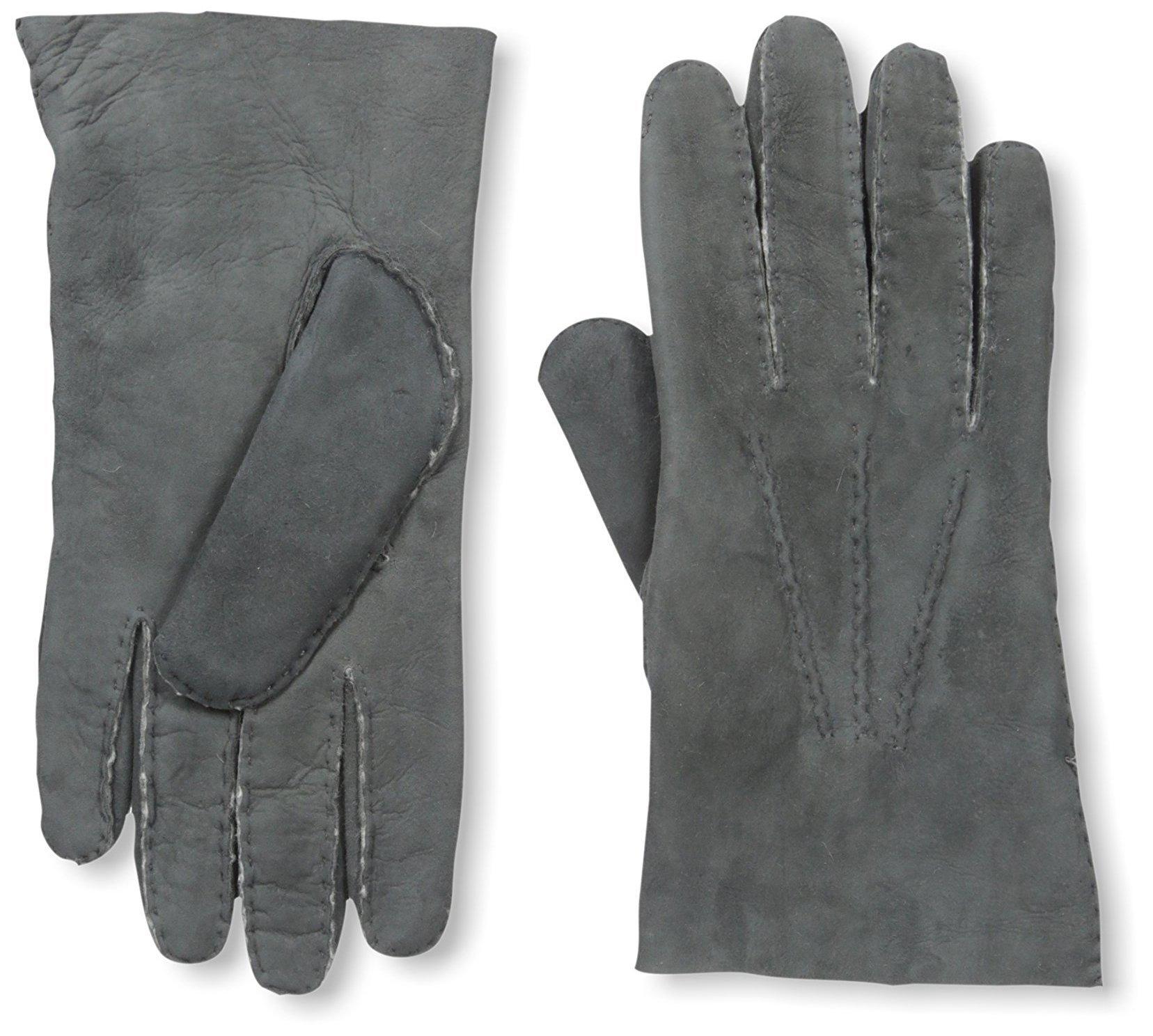 Franklin Tailored Men's Nubuck Gloves, Charcoal, S