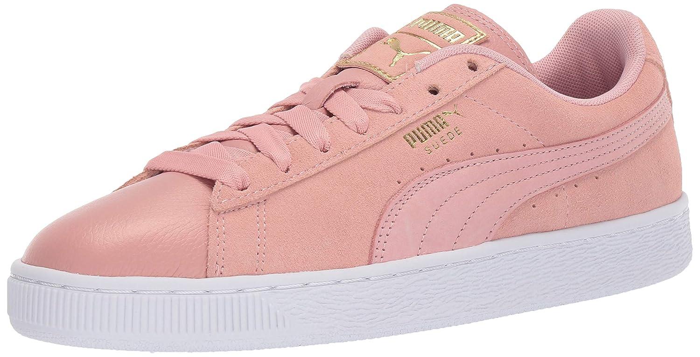 Bridal pink-puma White PUMA Women's Suede Classic Sneaker