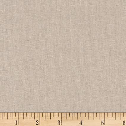 22a8d60f6497 Amazon.com: Stof Fabrics of Denmark Basic Linen Cotton Fabric, Flax ...