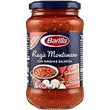 Barilla Sugo Ragù Montanaro con Funghi e Salsiccia, 400 gr
