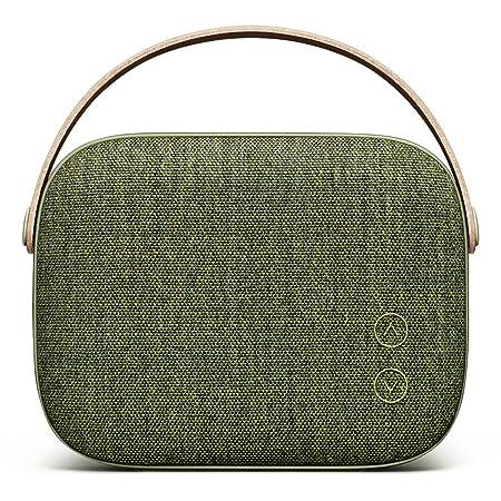 Vifa Helsinki Hi-Resolution Bluetooth 4.0 Wireless Portable Speaker (Willow Green) Outdoor Speakers at amazon
