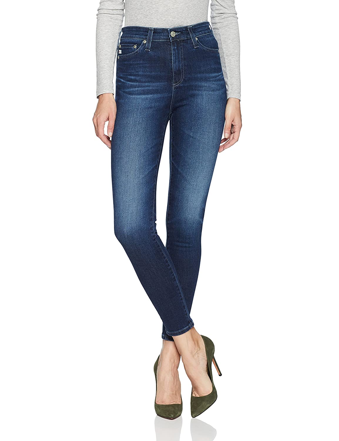 Choose SZ//Color AG Adriano Goldschmied Women/'s Mila High-Rise Skinny Ankle