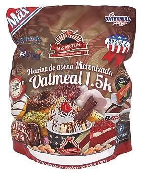 Max Protein Oatmeal Harina de Avena Termo-Activada - 1500 gr