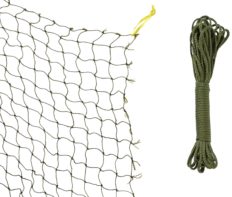 Trixie 44291 Schutznetz, drahtverstärkt 2 × 1,5 m, oliv-grün: Amazon ...