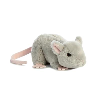 """Aurora World Mini Flopsie Toy Mouse Plush, 8"""""""