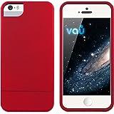 vau Snap Case Slider - matte red - zweigeteiltes Hard-Case für Apple iPhone 5 & iPhone 5S