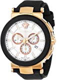 Versace Men's VFG050013 Mystique Sport 46mm Rose Gold Ion-Plated Coated Stainless Steel Chronograph Tachymeter Date Watch