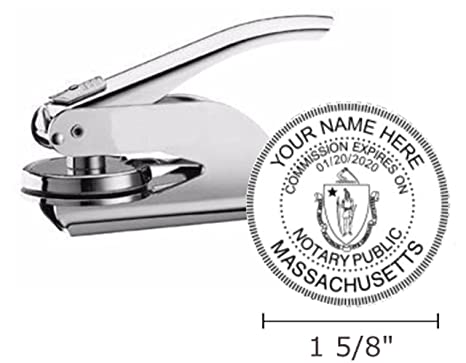 Image Unavailable Not Available For Color Massachusetts Notary Seal