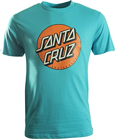 Santa Cruz Punto de color camiseta de manga corta - Azul ...