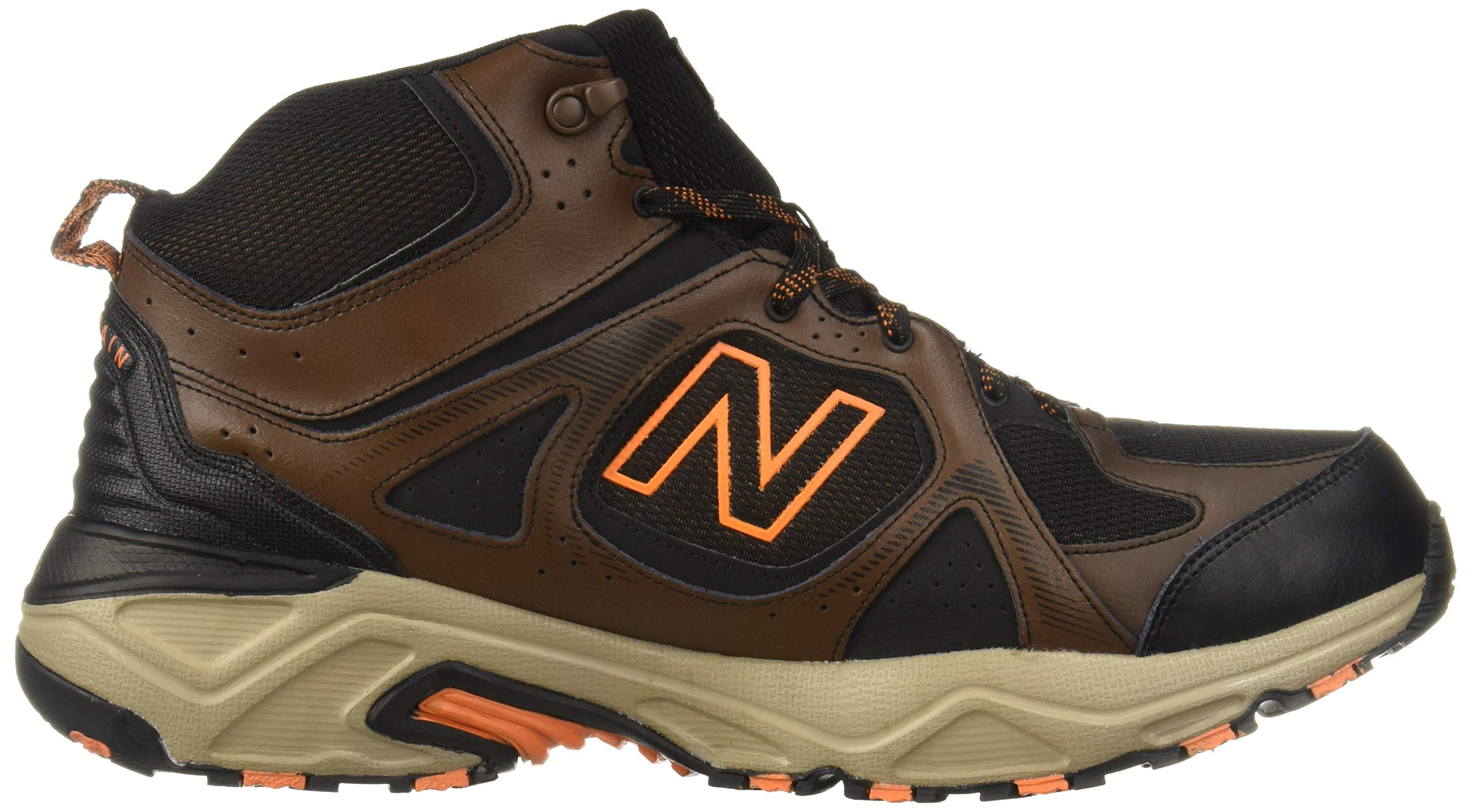 New Balance Men's 481 V3 Cushioning Trail Running Shoe Adrift/Black/Mercury 9 D US by New Balance (Image #7)