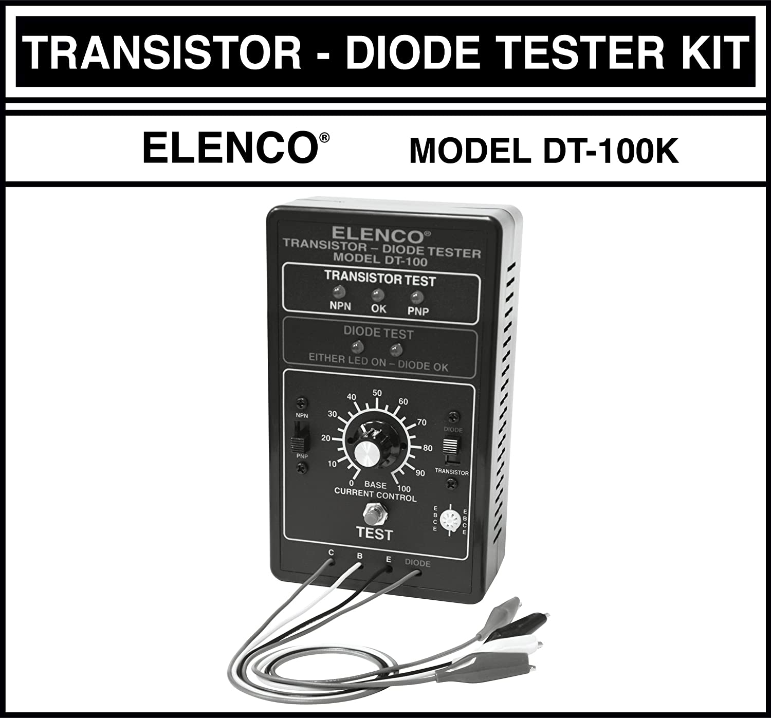 Elenco Diode Transistor Tester Kit Add Beautiful Car Brake Lights By Bc327