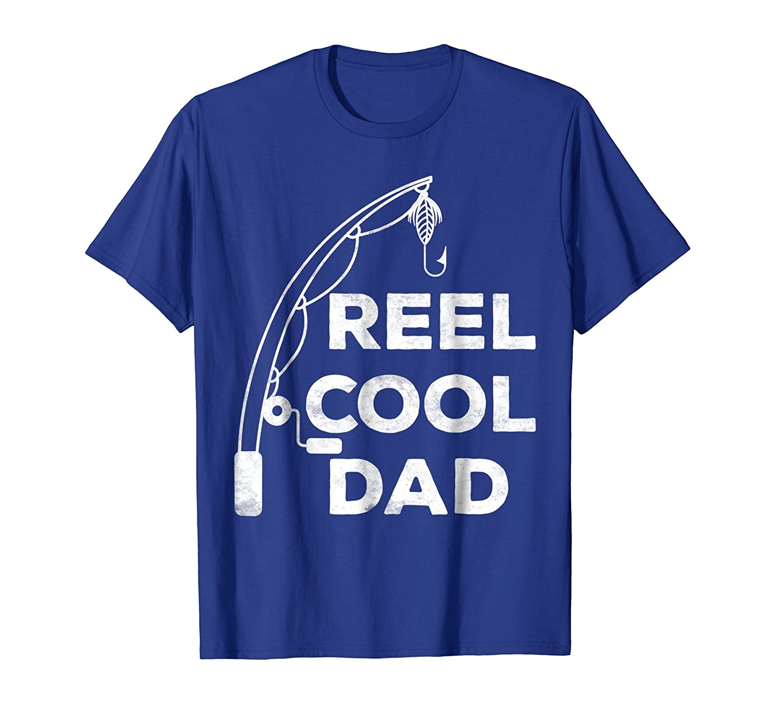 86925d88 Mens Reel Cool Dad T-Shirt Fishing Daddy Father's Day Gift Shirt – Paramatee