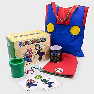 Culturefly Caja de Regalo de coleccionista Super Mario con
