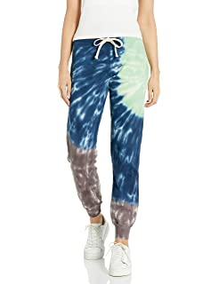 Monrow Women S Sun Burst Tie Dye Relaxed Pullover Wasabi Inca Mocha Extra Large Amazon Ca Clothing Accessories