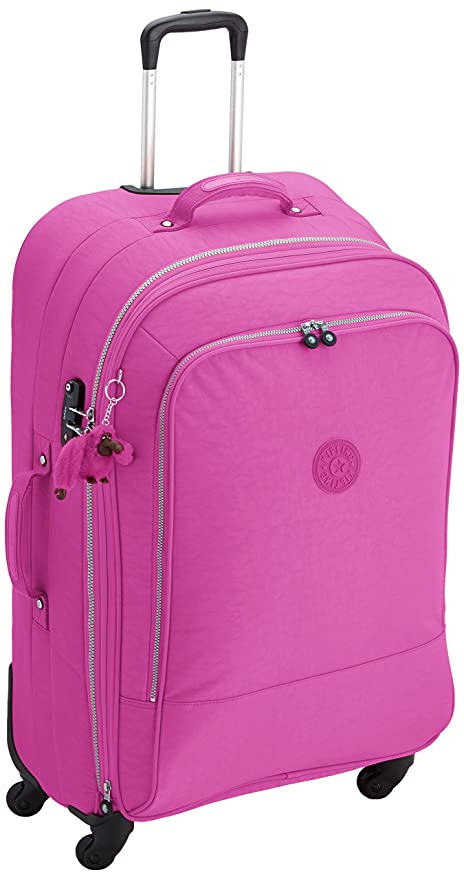Kipling Maleta trolley laptop, rosa - Pink Orchid, K1501713K_Pink Orchid_82
