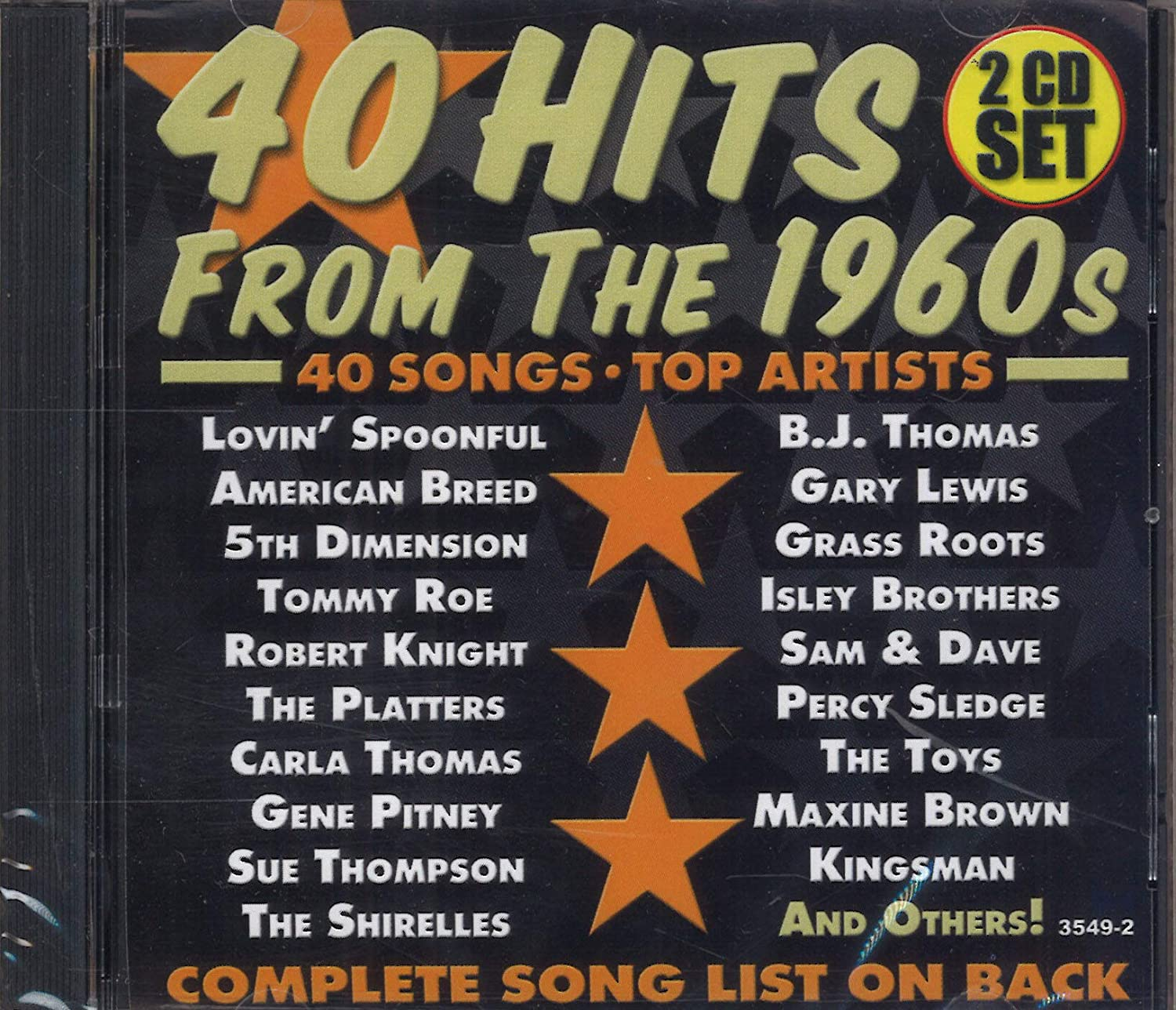 Various Artists - 40 Hits From The 1960s: 2 CD Set - Amazon