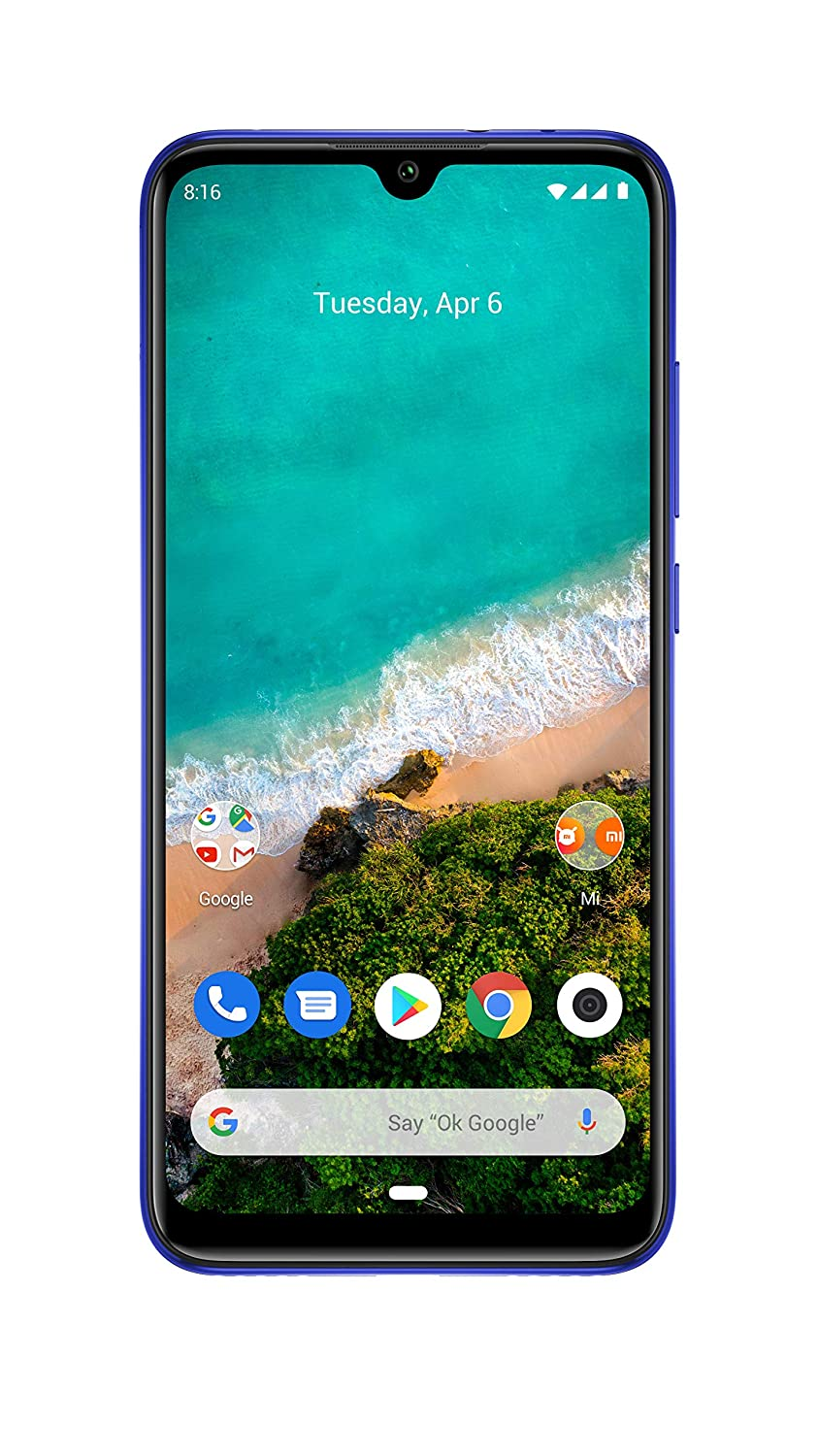Xiaomi Mi A3 (Not Just Blue, 4GB RAM, 64GB Storage)