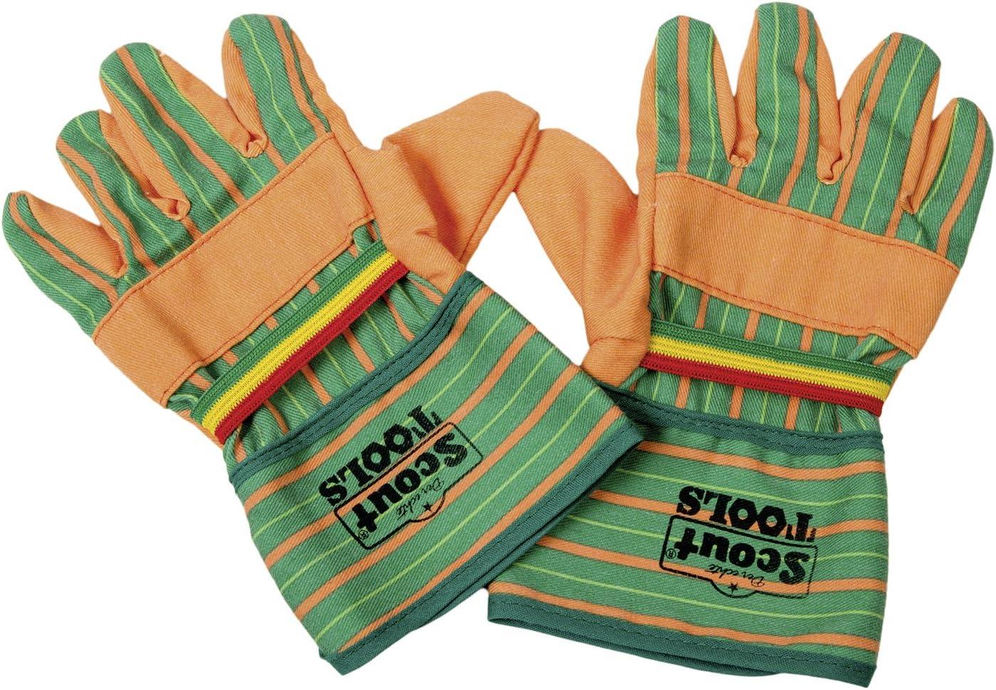 Kinder Arbeits Garten Handschuhe HAPPY PEOPLE Scout Gartenarbeitshandschuhe