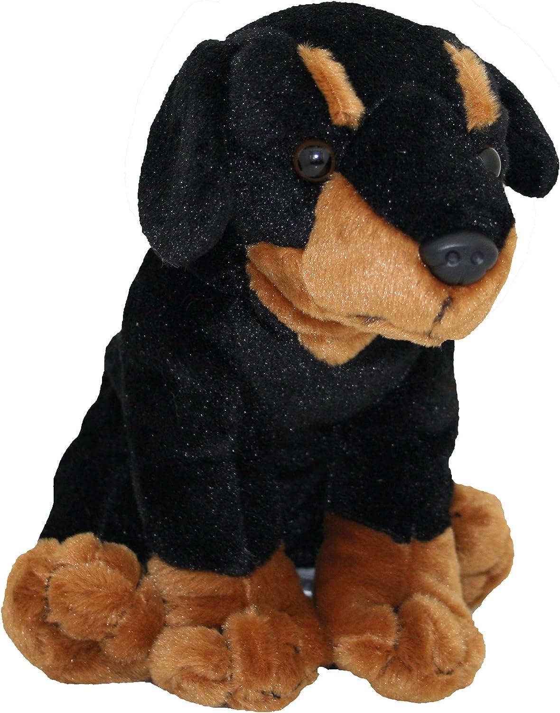 8 Inches Tall Stuffed Animal Brown Lab Anico Plush Toy Dog
