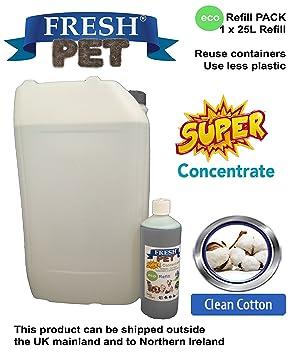 Trade Chemicals - Botella de recambio ecológico de 1 l (hace hasta 25 L) - Limpiador desinfectante de caseta: Amazon.es: Productos para mascotas