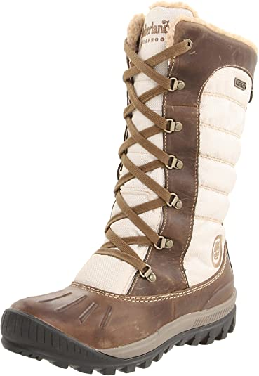 Timberland Ek Mt Hly Tall Dck T, Boots femme Marron (Taupe With Light