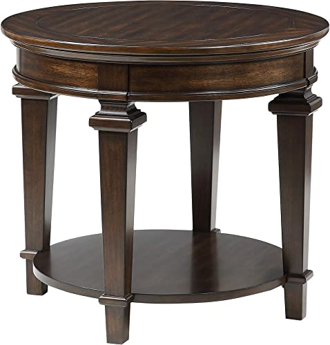 Lexicon Mitchell Round End Table