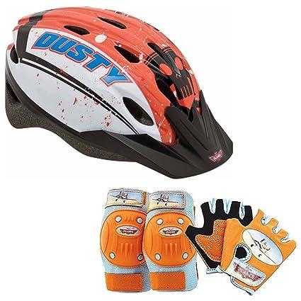 c91c4c4d996 Amazon.com : Disney Planes Kids Skate / Bike Helmet Pads & Gloves - 7 Piece  Set : Sports & Outdoors