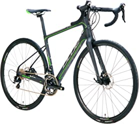 Blue Road Endurance Bike Prosecco SP Full Carbon, Disc Brakes with Shimano 105, 22 Speed