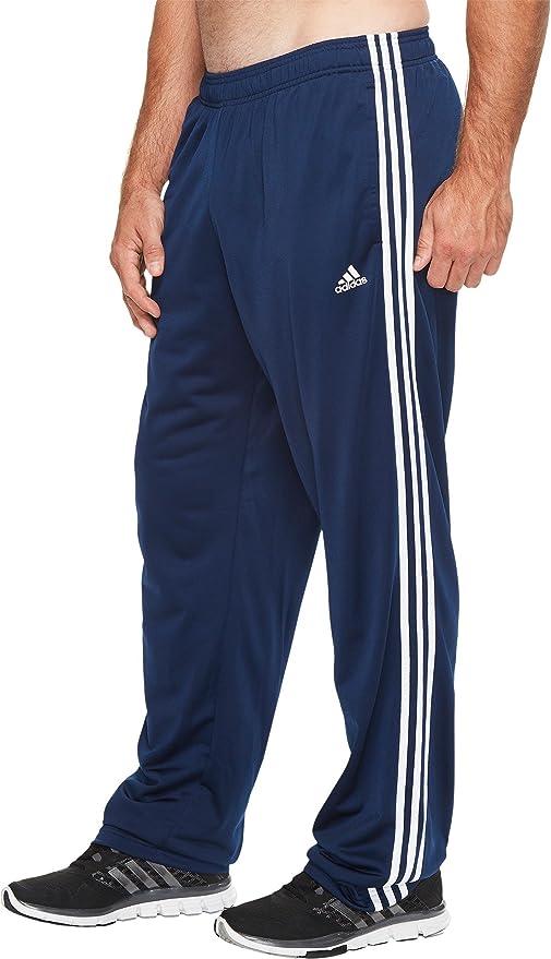 460673756 Adidas Essentials 3S Tricot (Big Tall) Pant Men s Multisport 4XLT  Collegiate Navy-White