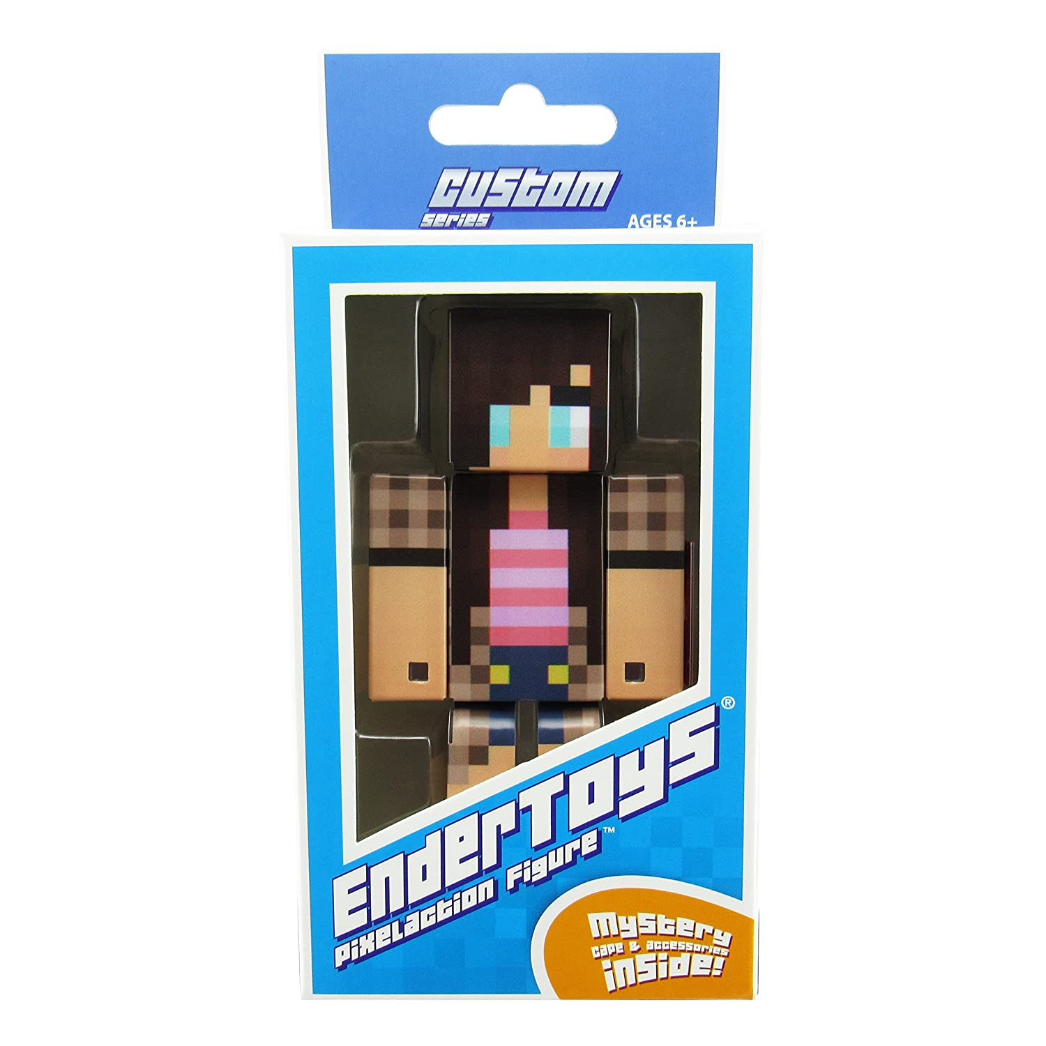 Not an Official Minecraft Product EnderToys Cow Girl Action Figure Toy