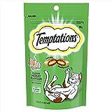 TEMPTATIONS Cat Treat Seafood Medley 85g Bag, 6 Count