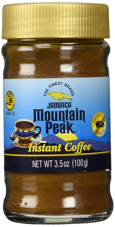 Jamaican Mountain Peak Instant Coffee 3.5 oz