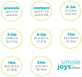 Simple Joys by Carter's Baby 6-Pack Side-Snap