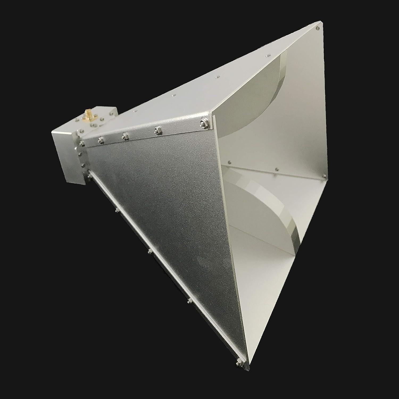 Dual Ridge Antena de bocina de Banda Ancha de 0,8 GHz a 6 ...