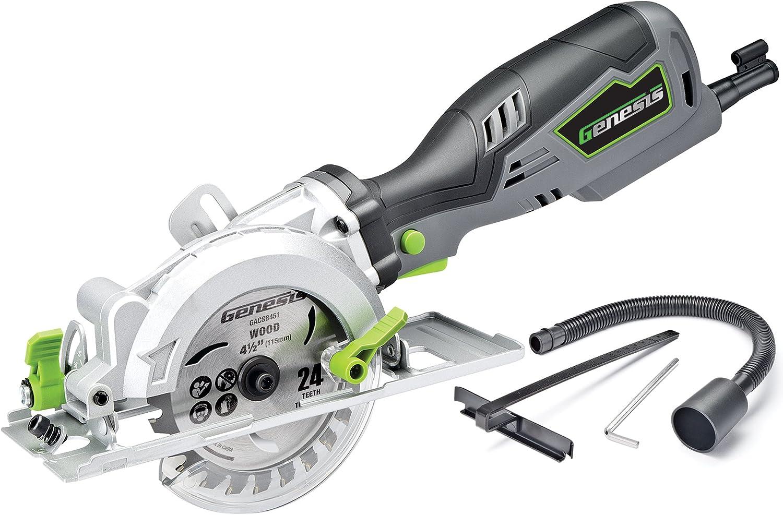 GENESIS GCS545C COMPACT Circular Saw- Best Lightweight Saw Circular Saw