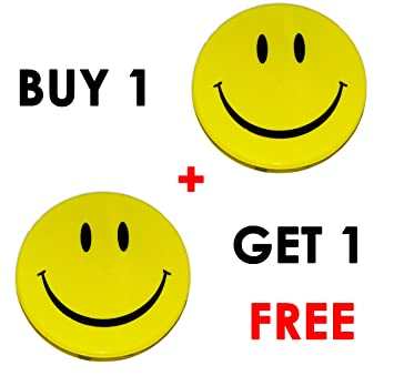 f15cd9c82464 Smiley Lunch Box Buy 1 Get 1 Free (Yellow)