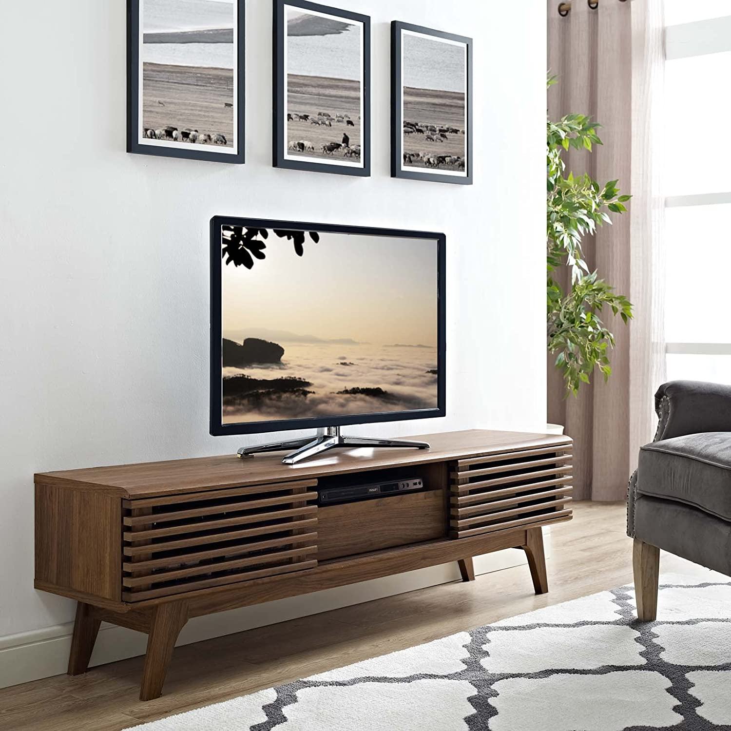 9. Modway Render Modern TV Stand- Best Wooden Design