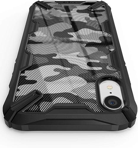 Ringke Fusion-X Compatibile con Cover iPhone XR, Custodia iPhone XR con Paraurti Protettiva Antiurto TPU, Cover per iPhone XR (6.1 Pollice) - Camo ...
