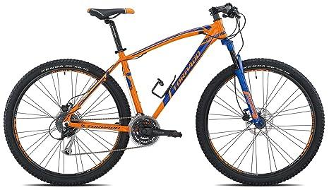 Torpado Bici Mtb Mercury 29 Alu 3x8v Disco Taglia 52 Arancione Blu