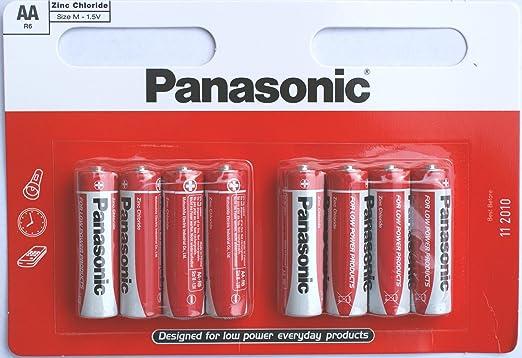 8 Panasonic Aa Zinc Chloride Batteries Spielzeug