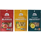 Mavuno Harvest Fair Trade Organic Dried Fruit Variety Pack, Mango, Pineapple, and Jackfruit