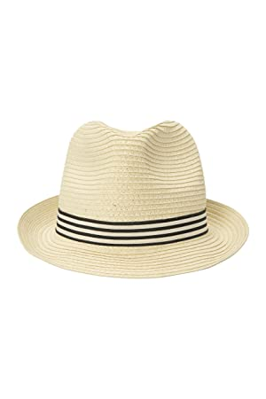 5bcb665c10c Mountain Warehouse Trilby Men s Straw Hat - Durable Summer Hat ...
