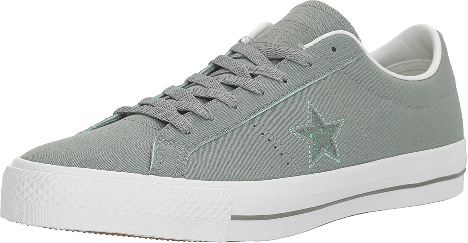 Camo Green Green Glow White Converse Unisex Adults Sneakers One Star C153064 Low-Top