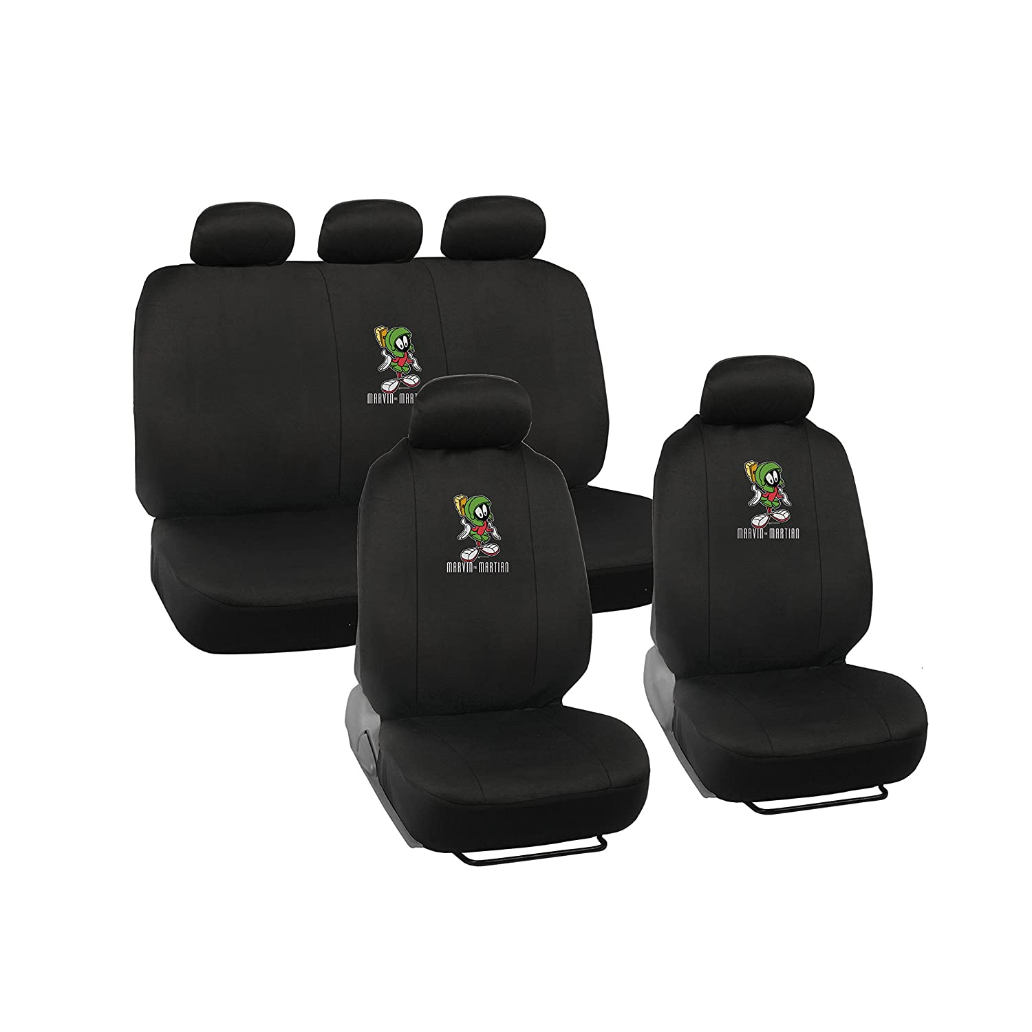 Amazon.com Warner Brothers Marvin the Martian Seat Covers for Car - Looney Tunes Auto Accessories Universal Fit Automotive  sc 1 st  Amazon.com & Amazon.com: Warner Brothers Marvin the Martian Seat Covers for Car ... markmcfarlin.com